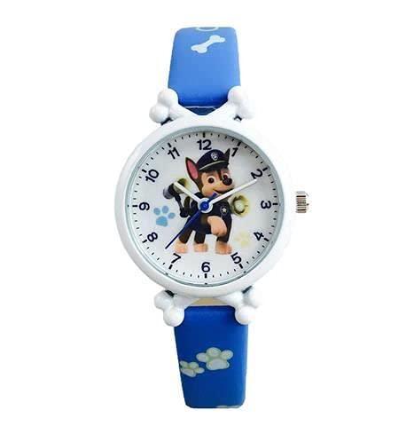Paw Patrol - Reloj de pulsera de cuarzo para niños y perros, Chase.,
