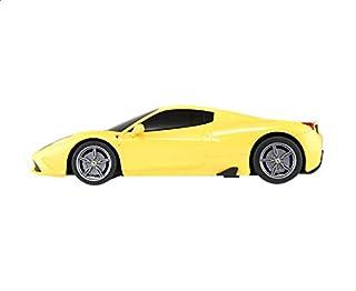 لعبة سيارة فيراري 458 بريموت كنترول من راستار - اصفر