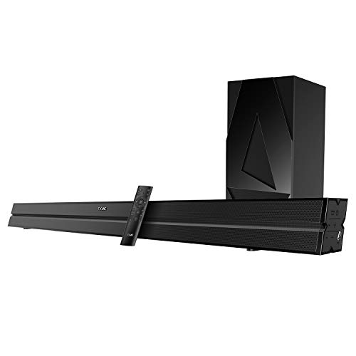 boAt AAVANTE Bar 2050 160W 2.1 Channel Bluetooth Soundbar with boAt Signature Sound, Wireless Subwoofer, Multiple Connectivity Modes, Entertainment Modes, Bluetooth V5.0(Premium Black)