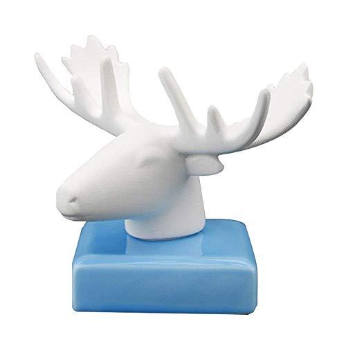ZFFSC Auto-lucht-outlet aroma keramiek Craft parfum stoel creatieve dierlijke auto geur auto luchtverfrisser natuurlijke geur luchtverfrisser Automotive essentiële olie diffuser