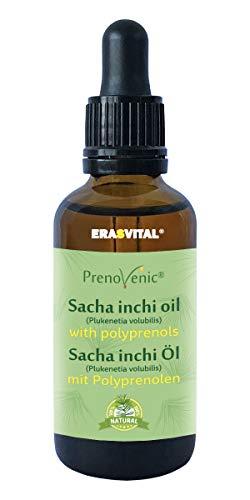 ERASVITAL® Polyprenolen aus den sibirischen Nadelbäumen im Sacha Inchi Öl 50 ml.