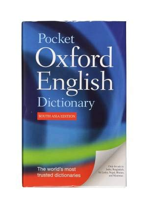 Best oxford pocket dictionary