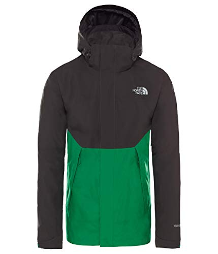 THE NORTH FACE Herren Mountain Light II Shelljacke, Asphalt Gry/Primary Green, M