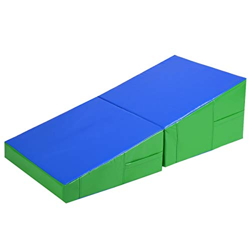 COSTWAY 2 in 1 Gymnastik-Turnmat...
