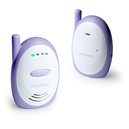 HelloBaby HB168 Audio Baby Monitor con Hasta 1000 Pies de Alcance