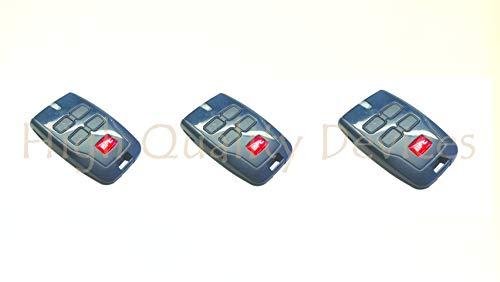 3x BFT MITTO B rcb04R1Mandos a distancia, 433,92MHz de 4canales Rolling Code, la nueva versión de, BFT MITTO4. 3top...