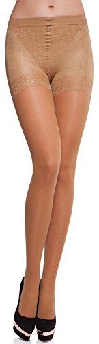 Merry Style Damen figurformende Strumpfhose MS 128 40 DEN (Neutro, S (32-36))