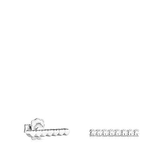 Pendientes Straight barra de Plata