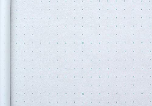 1 Roll of Alpha Numeric Dotted Marking Paper/Pattern Paper (48 inches x 10 Yards) Optimum Performance - Made in The USA