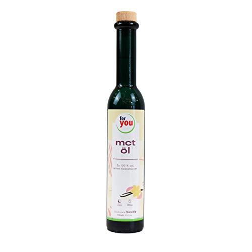 for you MCT-Öl Vanille - 100{036dc8490aabd3be4ad2323b58995e82ba55669ec5dc367fff6dfe5dc977583e} Kokosöl für Smoothies Eiweiß-Shakes Bulletproof-Coffee I Energielieferant für Körper & Gehirn I 250 ml MCT Öl mit 70{036dc8490aabd3be4ad2323b58995e82ba55669ec5dc367fff6dfe5dc977583e} Caprylsäure C8 und 30{036dc8490aabd3be4ad2323b58995e82ba55669ec5dc367fff6dfe5dc977583e} Caprinsäure C10