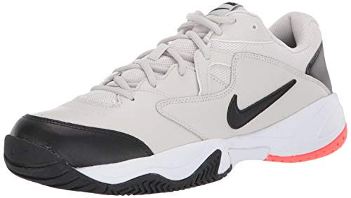 Nike NikeCourt Lite 2, Hombre, Multicolor (Light Bone/Black/Hot Lava/White 2), 43 EU
