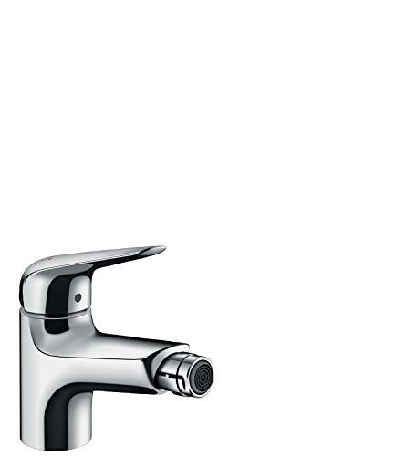 hansgrohe Wasserhahn Novus Bidetarmatur (Auslauf Höhe 70mm mit Zugstangen-Ablauf) Chrom