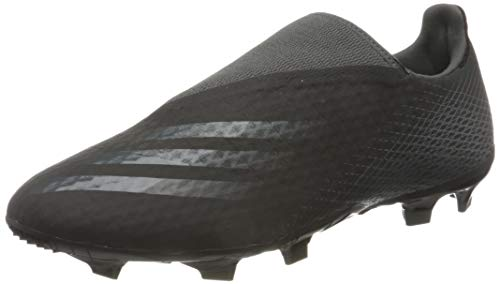 adidas X GHOSTED.3 LL FG, Scarpe da Calcio Uomo, Core Black/Grey Six/Core Black, 44 2/3 EU