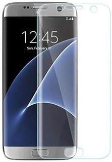 شاشة حماية شفاف ثلاثي الابعاد لكامل الجسم مناسب لموبايل سامسونج جالكسي اس 7 ايدج من بيست سوت