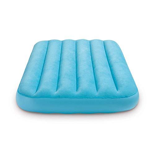 Intex Kinder Luftmatratze Luftbett Gästebett 157 x 88 x 18 cm blau ohne Kissen