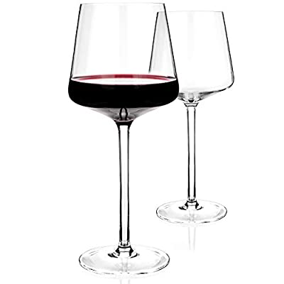 Luxbe - Crystal Wine Glasses - 12002