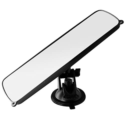 Miystn Innenspiegel, Auto Spiegel, Autospiegel, Universal Innenspiegel Saugnapf Spiegel für Auto LKWrückspiegel Auto innen (1 Stück, 245 x 70 mm)