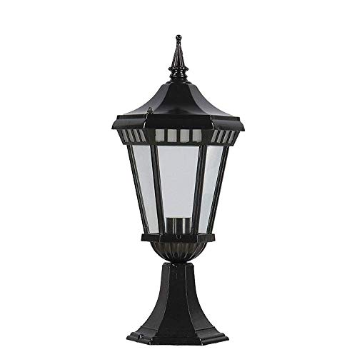 ZYLE Pillar Lampe Im freien Wandleuchte Pfosten Spalt Leuchte Wandleuchte Technik Lampe wasserdichte Villa Tür Lampe Quadrat-LED Antike