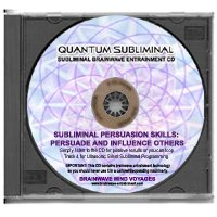 BMV Quantum Subliminal CD Persuasion Skills: Persuade and Influence Others (Ultrasonic Subliminal Series)