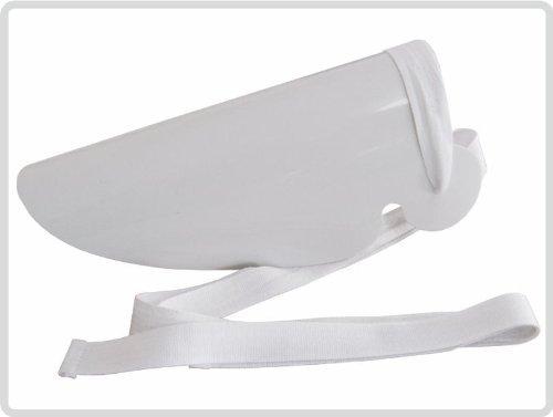 Sockenanziehhilfe, aus Kunststoff *weiß* - Strumpfanziehilfe, Strumpfanzieher