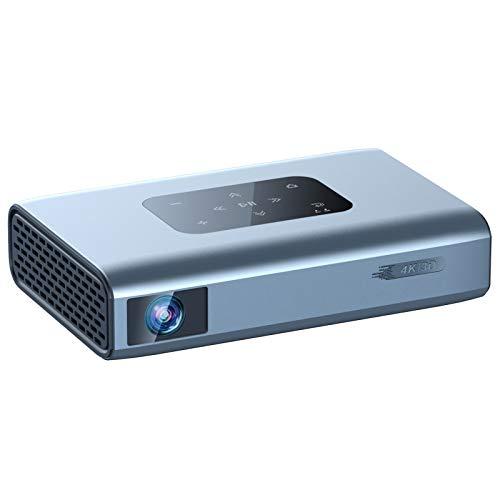 LWZ Mini Proyector, Proyector DLP Inalámbrico Portátil para Cine En Casa con Trípode, 850 Lúmenes De Color ANSI, Compatible con Sistema Android, WiFi, Altavoz Bluetooth