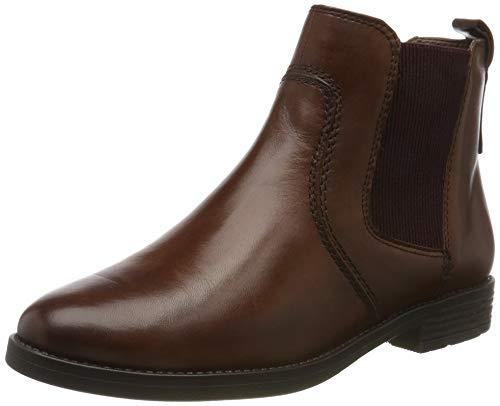Tamaris Damen 1-1-25306-23 Chelsea Boots, Braun (Cognac 305), 39 EU