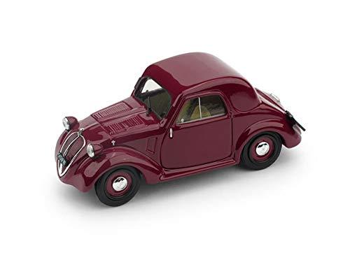 FIAT 500A TOPOLINO 1a SERIE TETTO METALLICO 1936 AMARANT 1:43 - Brumm - Auto d'Epoca - Die Cast - Modellino