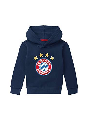 FC Bayern München Hoodie Logo Navy Kleinkinder, 104