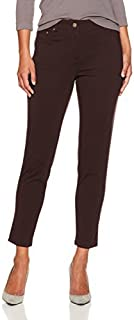 Ruby Rd. Women's Petite Fly Front Stretch Ponte Legging Pant