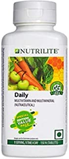 Amway Nutrilite Multivitamin and Multimineral Tablets -150 Tablet