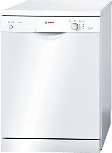 Bosch SMS24AW00E Serie 2 Freistehender Geschirrspüler / A+ / 60 cm / Weiß / 290 kWh/Jahr / 12 MGD / Silence / VarioBesteckkorb