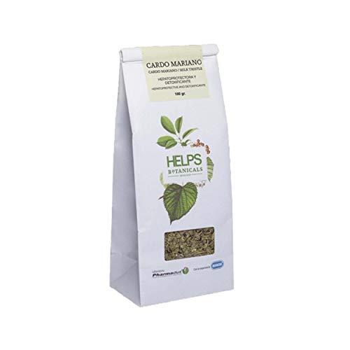HELPS INFUSIONES - Infusión Depurativa De Cardo Mariano. Té Detox Natural Regenerador Del Hígado. Bolsa A Granel De 100 Gramos