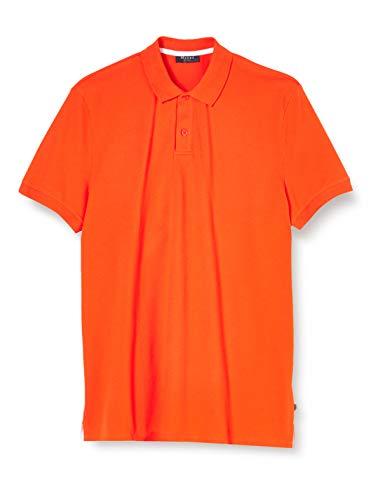 Maerz Herren Polohemd Poloshirt, Rot (Grenadine 432), X-Large (Herstellergröße: 54)