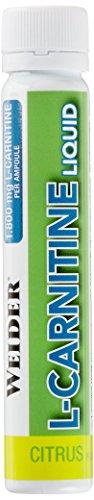 Weider, L-Carnitine Liquid 1.800, Citrus, 1er Pack (20x 25ml)