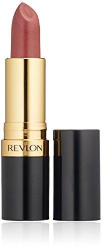 revlon champagnes Revlon Super Lustrous Lipstick with Vitamin E and Avocado Oil, Pearl Lipstick in Mauve, 610 Gold Pearl Plum, 0.15 oz (Pack of 2)