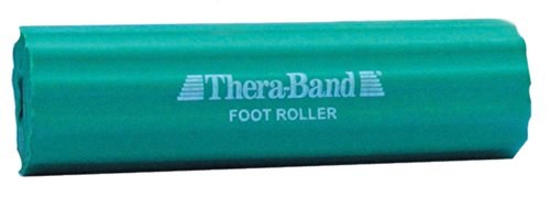 TheraBand Foot Roller for Foot Pain Relief, Massage Ball Roller for Arch Pain, Plantar Fasciitis Treatment, Heel Spurs Reliever, Tired Feet, Best Foot Massager with Ridges for Self Myofascial Release, Old Version