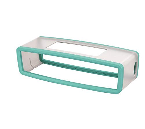 iMusk Soft Silicone Schutzhülle Hülle Schale Rahmen für Bose SoundLink Mini 1 2 Bluetooth-Lautsprecher-Zubehör (hellgrün)