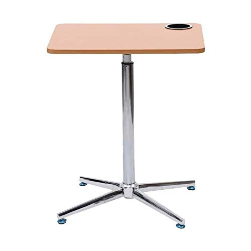 WSJTT Stand Steady Multifunctional Podium, Portable Sit to Stand Lectern with Height Adjustments, Laptop Stand Perfect for School, Home & Office