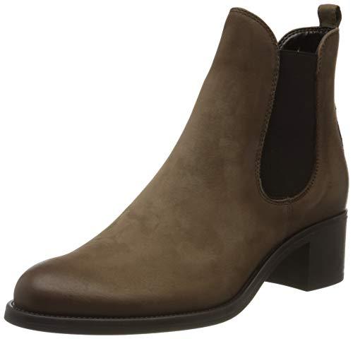 Tamaris Damen 1-1-25040-23 Chelsea Boots, Braun (Taupe Nubuc 346), 40 EU