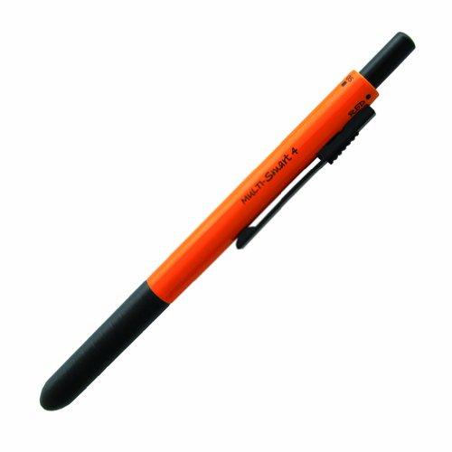 OHTO Multi Smart 4 Multi Functional Pen, Orange (MF-15ST4-OR)