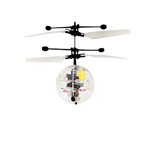 Toy Flying Toy Balle à Induction Infrarouge Jouet Volant, Drone de vol coloré Rechargeable pour Hommes Femmes Enfants étudiants Jeux d'extérieur intérieur