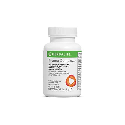 HERBALIFE NUTRITION Thermo Complete Tabletten pflanzlicher Inhaltsstoffe, einschließlich Grünem Tee und Yerba Mate (90 Tabletten) - 78,9g