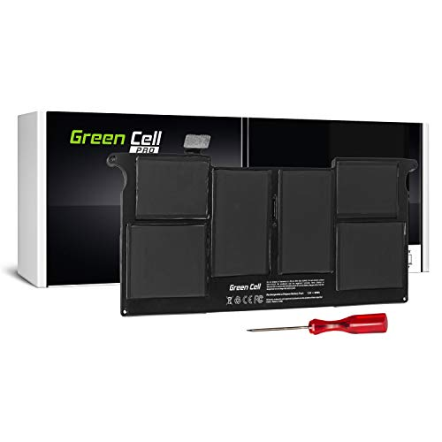 Green Cell PRO Serie A1406 Batteria per Portatile Apple MacBook Air 11 A1370 A1465 (Mid 2011, Mid 2012) (4800mAh 7.3V Nero)