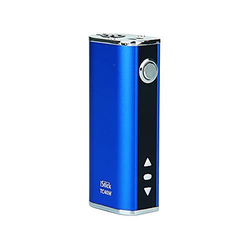 Genuine Eleaf iStick 40 W TC Temperature Controlled Box Mod, No e Liquid, No Nicotine (Blue)