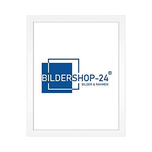 Bilderrahmen modern stabil RahmBig Weiß 100 X 150 cm Rahmen für Bilder Urkunden Poster Farbe & Größe wählbar