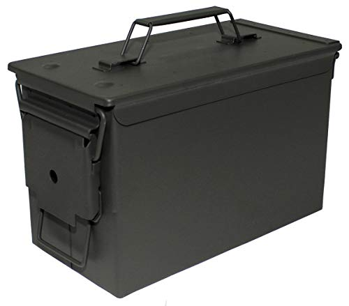 MFH US - Caja de metal para munición, calibre 50 mm, M2A1