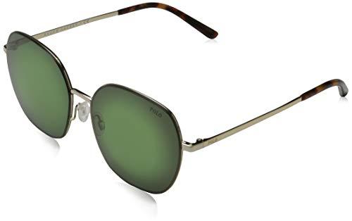 Ray-Ban dames 0PH3124 zonnebril, groen (pale goud), 57.0