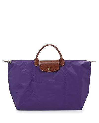 Longchamp Le Pliage Large Travel Tote Bag, Amethyst
