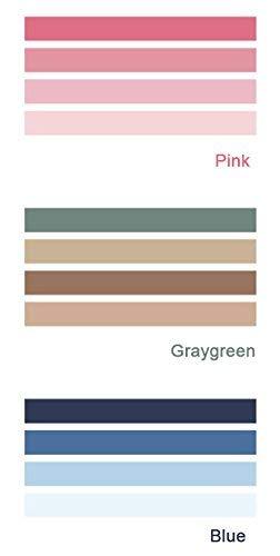 Stile giapponese Washi colorato arcobaleno nastro adesivo decorativo nastro adesivo appiccicoso per fai da te, decorativo Craft, pacchi regalo, scrapbook Set