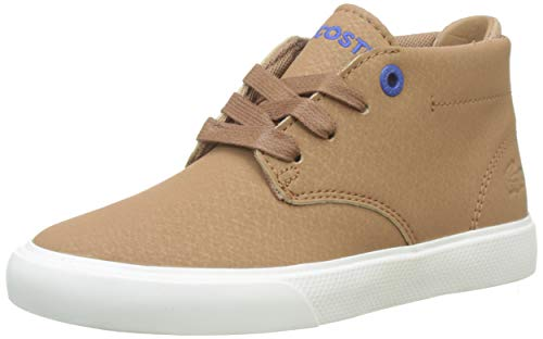 Lacoste Unisex-Kinder Esparre Chukka 319 1 Cuc Sneaker, Braun (Light Brown/Off White Bw7), 32 EU